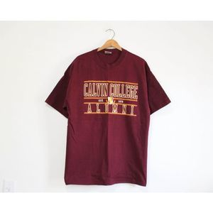 Vintage Calvin College Alumni T Shirt